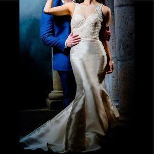 Jovani Ivory Dress